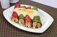 7 Maneiras Como Substituir o Arroz (Com Receitas) Fresh Rolls, Tacos, Food And Drink, Low Carb, Ethnic Recipes, Fitness, Zucchini Tomato, Salads, Pie Cake