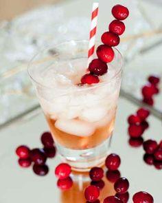 Festive Cranberry Cocktail
