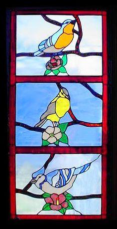 Bird Stained Glass | bird stained glass window #Bird #Stained #Glass…