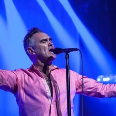 #Morrissey in Brooklyn on January 19th 2013, pictures by Dominick Mastrangelo via  www.brooklynvegan.com