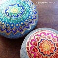 Two Mandala Stones | Flickr - Photo Sharing!