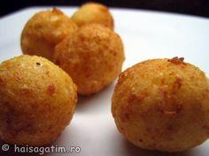 Bulete de cascaval (IMG 154221) imagine reteta Foodies, Muffin, Cheese, Breakfast, Morning Coffee, Muffins, Cupcakes