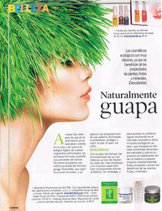 Nuestra mascarilla facial Feeling Good (http://www.baracosmetics.es/oscommerce/product_info.php?products_id=837) en la revista Semana http://www.baracosmetics.es/oscommerce/images/PRENSA/semana2.jpg