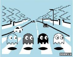 Haunted Abbey Road from Dorkly.com