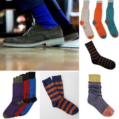 Instead: dare to wear socks in a bright color or interesting pattern. | 10 Signs It's Time To Update Your Wardrobe