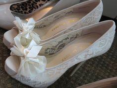 Bride's Shoes by TotallyMarisa, via Flickr