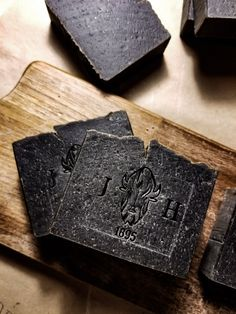 Soap handcrafted with hard work in mind.