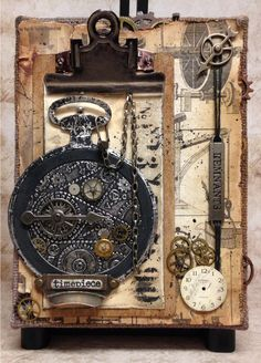 Tim Holtz 12 Tags of 2014 - January - by Sue Fraser