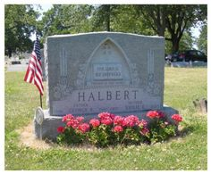 George R. Halbert - Emilie Hamaty-Halbert, Alpine Cemetery, Perth Amboy, NJ