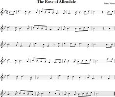 The Rose of Allendale Sheet Music for Violin                                                                                                                                                     More