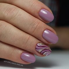 Nail Trends That Keep You Uniquely Fashionable Orange Nail Designs, Gel Nail Designs, Gorgeous Nails, Pretty Nails, Purple Nails, Pink Purple, Cute Nail Art, Nagel Gel, Fancy Nails