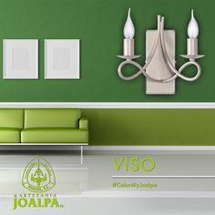 Aplique de pared VISO, viste tus paredes con la máxima elegancia, pura artesanía para vestir la luz de tu hogar, #ColorsByJoalpa