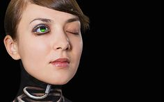 Video: Tokyo-based artist creates unique body art inspired by modern technology