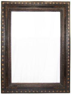 Large Dutch 17th C. ebonized ripple frame. : Lot 138 www.liveauctioneers.com