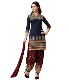 Soru Fashion Navy Cotton Straight Unstitched Dress Material - http://www.zazva.com/shop/women/clothing-and-accessories/women-clothing/women-ethnic-wear/women-salwar-kameez/soru-fashion-navy-cotton-straight-unstitched-dress-material/ Colour : Navy fabric : Cotton  #MaterialSalwar, #Salwar, #SalwarKameez