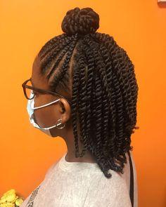 Protective Hairstyles For Natural Hair, Natural Hair Braids, Natural Hairstyles For Kids, Kids Braided Hairstyles, Braids For Black Hair, Little Girl Hairstyles, Natural Hair Styles, Afro Hair Twists, Natural Hair Flat Twist