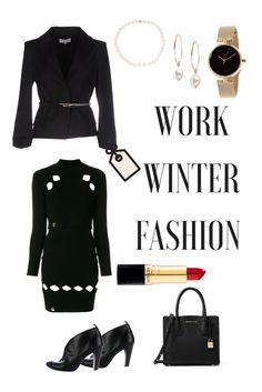 #PatriziaPepe #Blazers #winteroutfits #workwear #officefashion Winter 2017, Fall Winter, Winter Outfits For Work, Patrizia Pepe, Office Fashion, Office Wear, Winter Dresses, Leather Crossbody, Work Wear