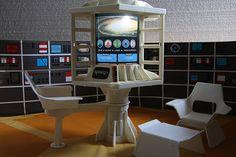 Moon Base Alpha interior (Space 1999)