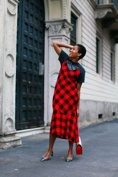 How to Wear A Slip Dress From Day To Night