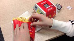 Акция с призами в Макдональдсе. The campaign with prizes at McDonalds