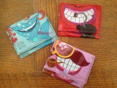 Pom 'Potes purse - 4 little imps - door Diy Sac, Diy Accessoires, Diy For Kids, Coin Purse, Purses, Sewing, Crochet, Blog, Dressmaking