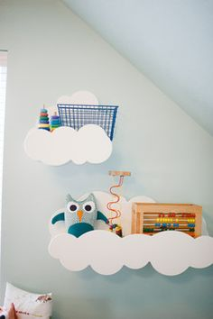 Whimsical Woodland Playroom by Mollie Openshaw - contemporary - Kids - Salt Lake City - Design Loves Detail