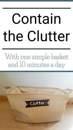 Control the clutter with this one simple tip that works!