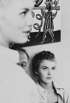 """Jean Seberg, in 1958 during the filming of """"Bonjour Tristesse"""" directed by Otto Preminger."""