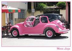 Instead of Barbie's dream car this would be Emma's dream car!