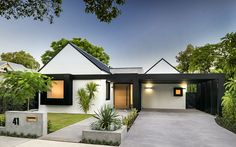 Heritage-style home with a modernist finish | Scyon Wall Cladding And Floors