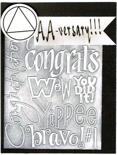 12 Step Congratulations Card by 12StepUnityGal on Etsy