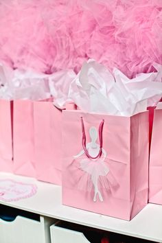 DIY Ballerina Party Favor