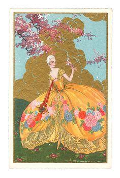 Tito Corbella postcard by totallymystified, via Flickr