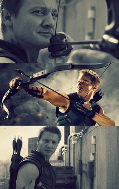 My favorite Avengers is Clint Barton, code name Hawkeye, because he's competently human. He doesn't have magic powers or an awesome suit because he doesn't need them. All his skill comes from years of training and constant practice. He's a human and he can keep up with Norse gods and geniuses, he's the furthest thing from useless. Plus he has a bow and arrow and honestly if you have a bow and arrow it's guaranteed I'll love you.