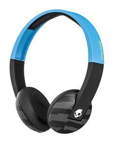 Skullcandy Black & Blue Uproar Wireless Headphones