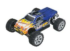 Dromida 1/18 MT4.18 Monster Truck 4WD 2.4GHz RTR. It's as tough as the rocks you're about to roll over and it gets you into the action fast!