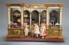 Apples - An Auction of Antique Dolls: 134 German Milliner Shop attributed to Christian Hacker for the French Market