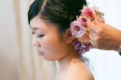 カトリック神田教会で挙式、山の上ホテルご披露宴の花嫁様。 ブーケを見た瞬間に号泣してくださった、 このお写真をついに載せる日が来ました。  今...