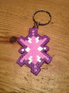 MLP Twilight Sparkle Cutie Mark Key Ring hama beads by ManasMelts