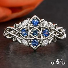 Browse our custom jewelry photo gallery. Design your own ring. Unique engagement rings and Wedding Bands, Vintage Antique engagement ring Celtic Engagement Rings, Floral Engagement Ring, Engagement Ring Photos, Platinum Engagement Rings, Designer Engagement Rings, Marquise Cut Diamond, Diamond Cuts, Green Lake Jewelry, Celtic Knot Ring