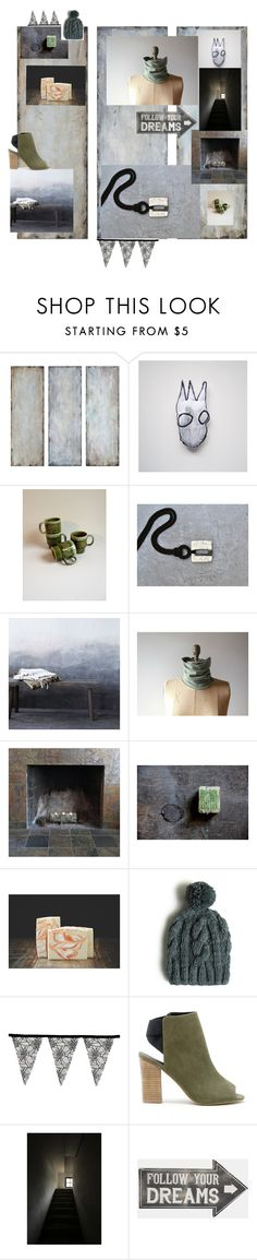 """Follow your dreams"" by twosaddonkeys ❤ liked on Polyvore featuring interior, interiors, interior design, home, home decor, interior decorating, Uttermost, WALL, Franklin and Sole Society"