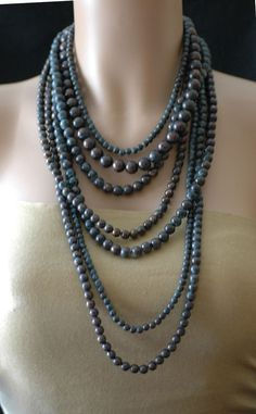 Hey, I found this really awesome Etsy listing at https://www.etsy.com/listing/262946895/bib-necklace-layered-necklace-patina
