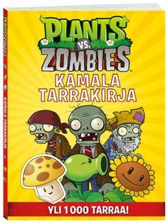 Plants vs. Zombies -tarrakirjassa Zombit punovat juonia lähiöasukkaiden pään menoksi. Nyt ei pidä panna aivoja narikkaan, vaan vetää mietintämyssy tiukasti niiden suojaksi ja keksiä hyvä strategia. Ota avuksi tämä kirja: Täydennä maisemia ja luo hurjia taistoja zombitarroilla, lue uusimmat aivouutiset, tee Sopisitko Zombiksi -testi, koristele zombie, pidä taistelupäiväkirjaa ja hihitä vitseille!