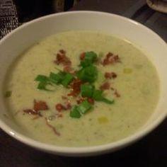 Potato Leek Soup III Allrecipes.com