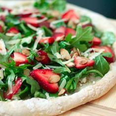 Strawberry, Arugula, And Goat Cheese Pizza