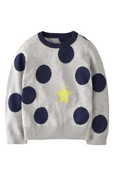 Mini Boden Intarsia Sweater (Toddler Girls, Little Girls & Big Girls) available at #Nordstrom