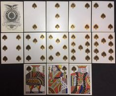 1865 •HIGH GRADE• Museum Quality Authentic Illuminated Civil War Playing Cards   eBay