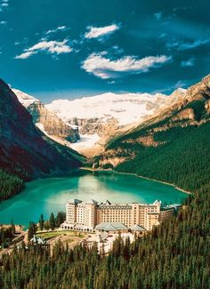 Lake louise, alberta, Canada. Truly one of the most beautiful places I've been to.