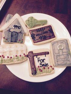 Open house sugar cookies