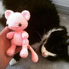 Free crochet pattern of Mew from Pokemon. Everything you need to crochet your own Mew!